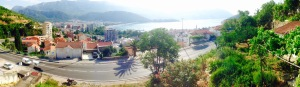 Our view in Budva